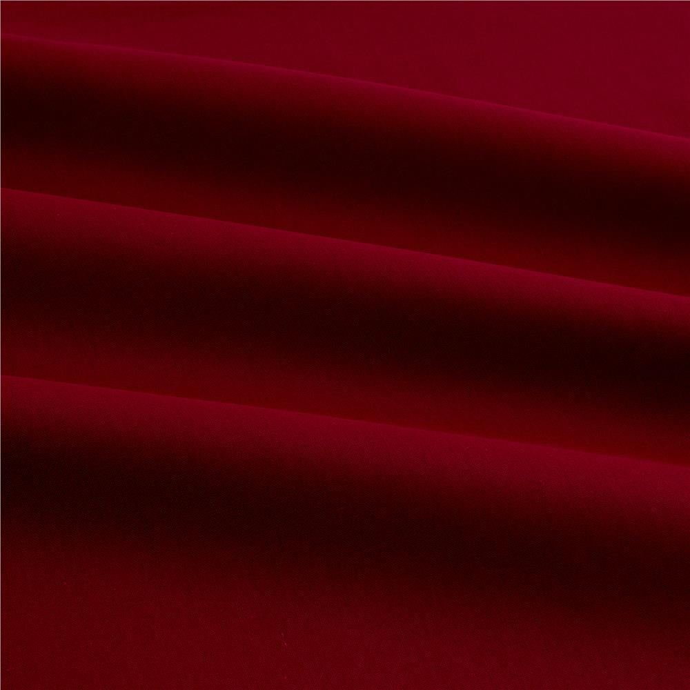 Cotton Broadcloth Dark Wine