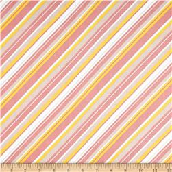Riley Blake A Beautiful Thing Stripe Pink Fabric