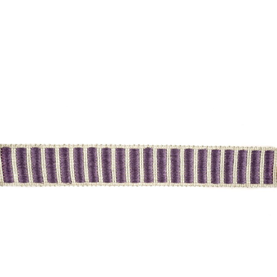 "Fabricut 1.5"" Winnowing Trim Plum"