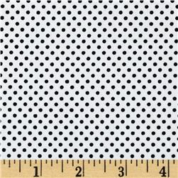 Pimatex Basics Pin Dot Ice/Black Fabric