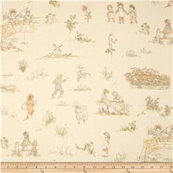 Lecien Kate Greenaway Scenic Peach