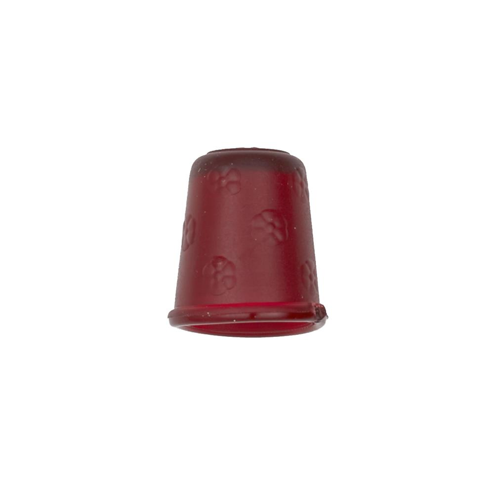 "Dill Rubberized Thimble 11/16"" Wine"