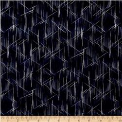 Indigo Summer Graphic Lines Navy
