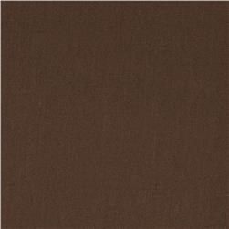 Cotton Broadcloth Chocolate
