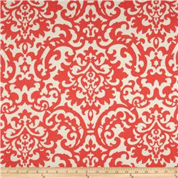 Waverly Duncan Damask Twill Coral Fabric