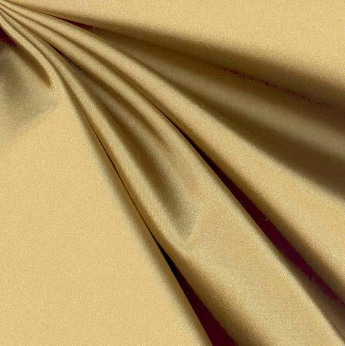Debutante Stretch Satin Fabric  Amber Gold
