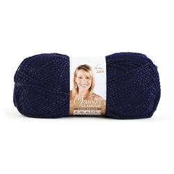Lion Brand Vanna's Glamour Yarn (109) Sapphire