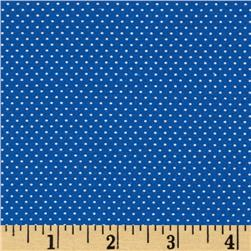 Pin Dot Royal Blue