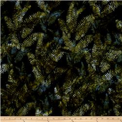 Bali Handpaints Batiks Fern Black/Jade