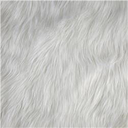 Luxury Faux Fur Fox White