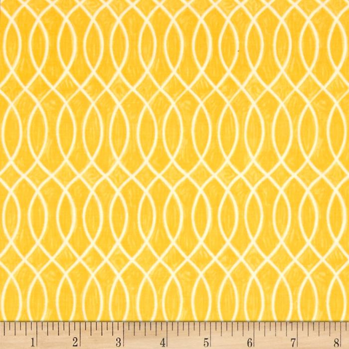 Moda Hugaboo Laced Lined Sunshine Yellow