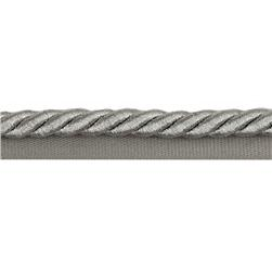 Expo 3/8'' Nicholas Lip Cord Trim Metallic Silver