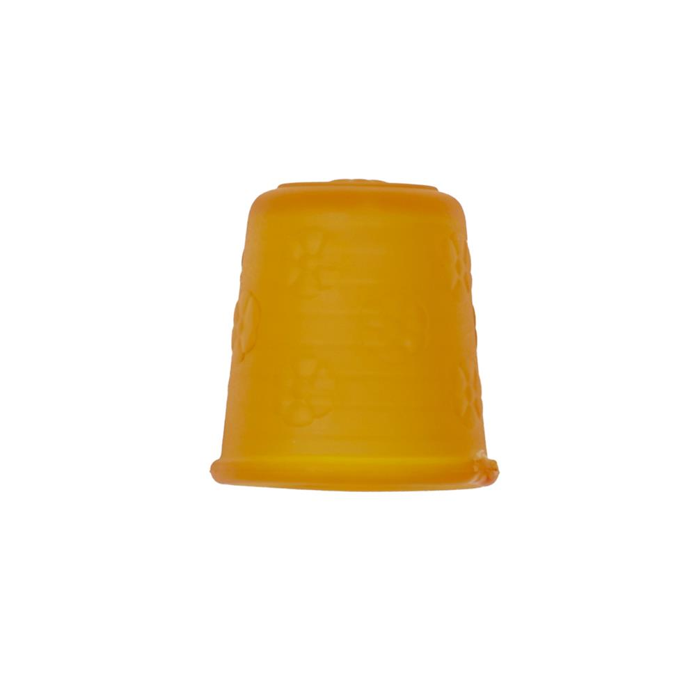 "Dill Rubberized Thimble 7/8"" Yellow"