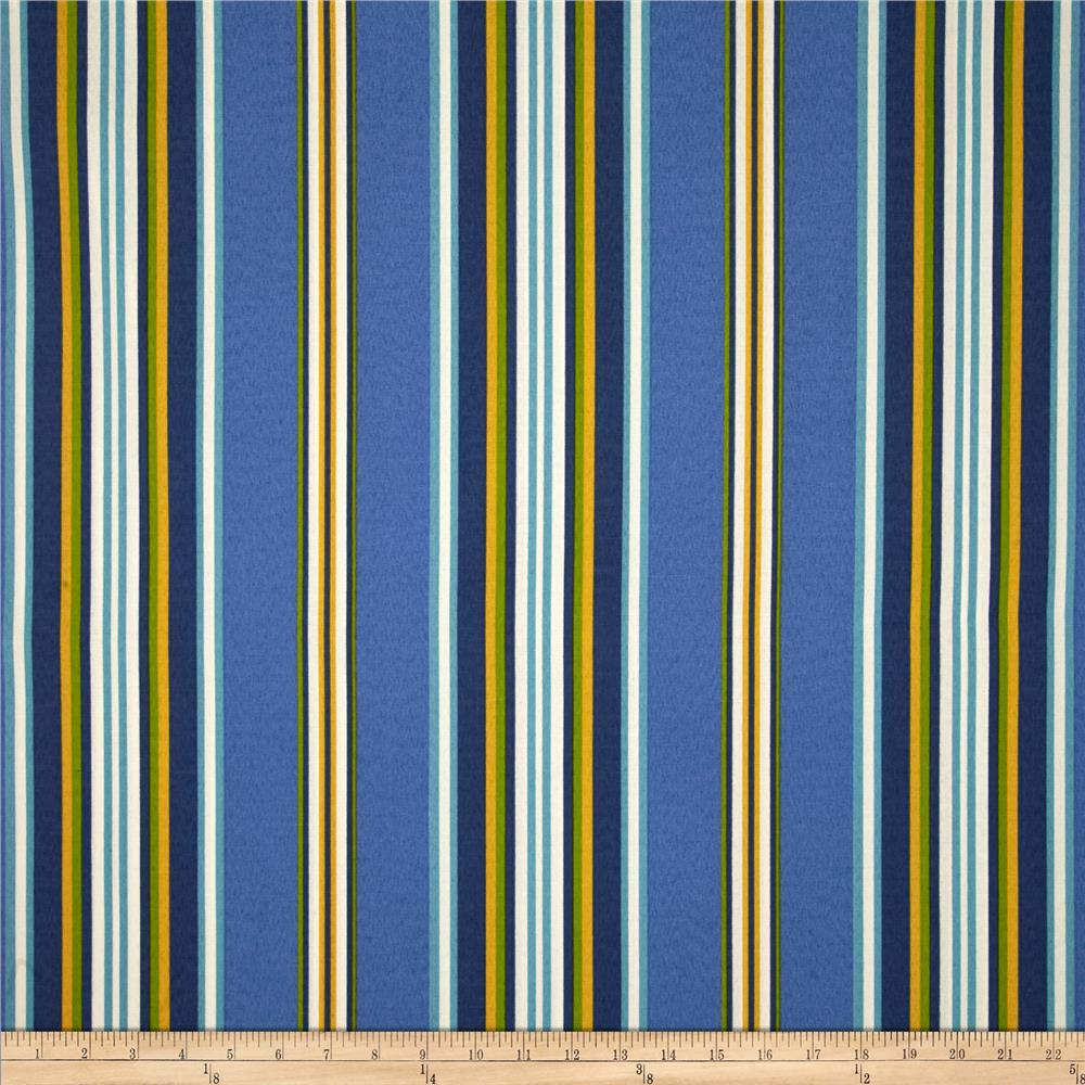 Richloom Solarium Outdoor Kashmira Stripe Summer