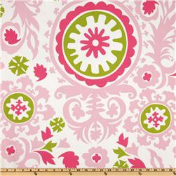 Premier Prints Suzani Maggie/Candy Pink Fabric
