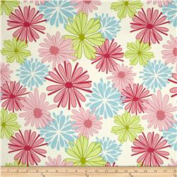 Riley Blake Home Decor Floriography Pink Fabric
