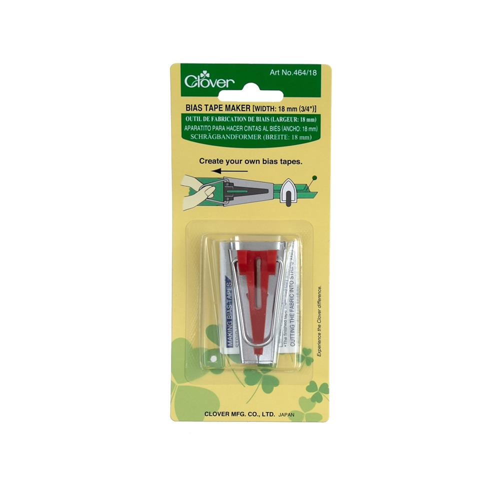 Clover Bias Tape Maker-3/4""