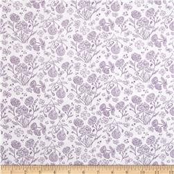 The Kitten's Meow Toile Amethyst