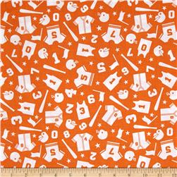 Riley Blake Play Ball Uniform Orange