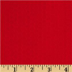Kona Dimensions Honeycomb Red Fabric