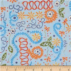 Sew Fun! Embroidery Stitches Blue