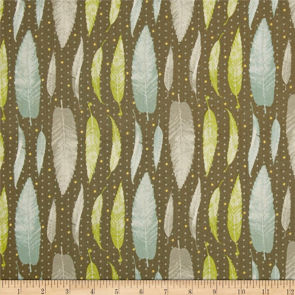 Lonni Rossi's Leaves Brown/Multi