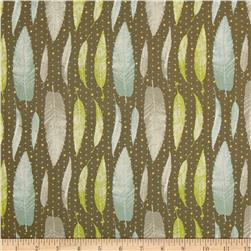Lonni Rossi's Leaves Brown/Multi Fabric