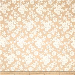 Verna Mosquera Rustic Blush Shadow Rose Burlap