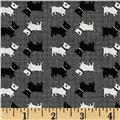 Aunt Grace Miniatures Scotties Black