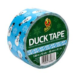 "Holiday Duck Tape 1.88"" x 10yd-Snowman"