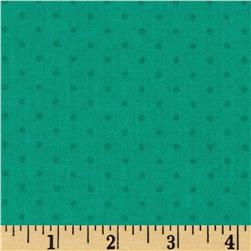 Wonderful Woodlands Dots Teal