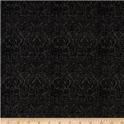 Penny Rose Joyous Christmas Damask Black