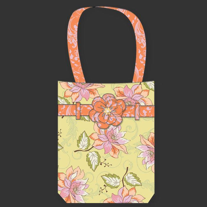 Maui Tote Bag Kit Girly Girl Yellow