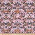 Cotton + Steel Rifle Paper Co. Menagerie Tapestry Violet