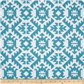 Premier Prints Pawnee Coastal Blue