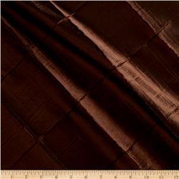 "4"" Diamond Pintuck Taffeta Chocolate"