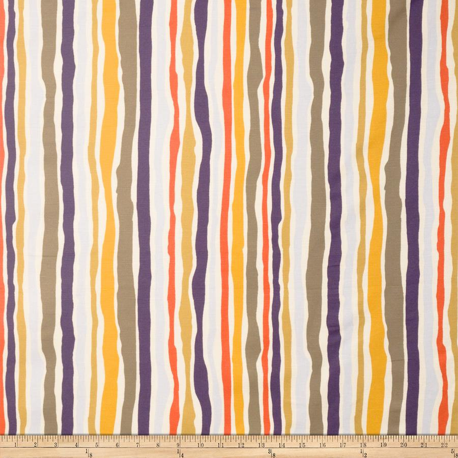 Amy Lau Landscape Stripe Earthwork Fabric