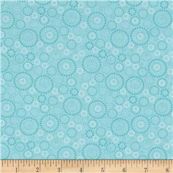 Kitchen Love Beaded Circles Light Teal