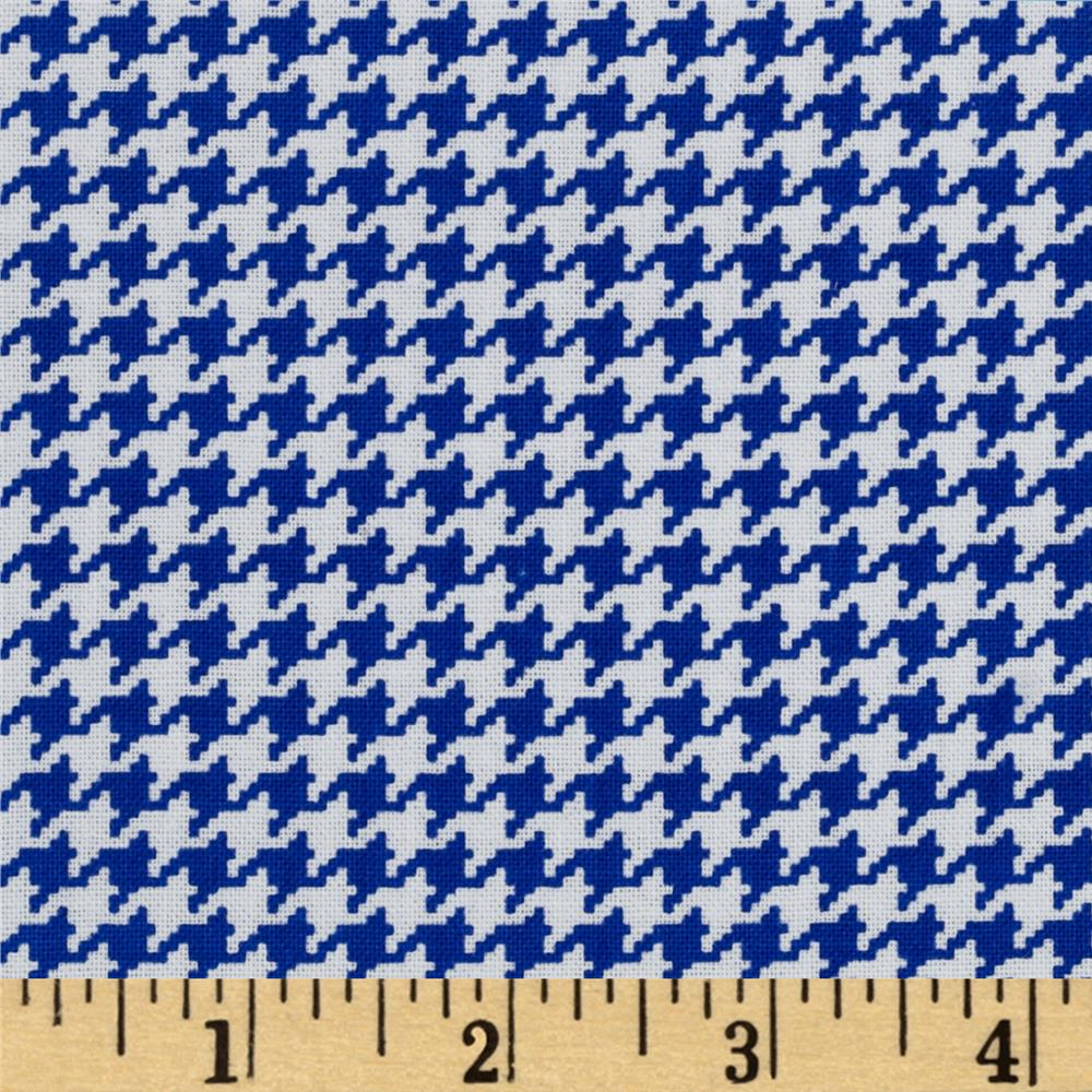 Michael Miller Tiny Houndstooth Royal