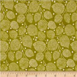 Windham Textured Leaves Textured Leaf  Olive