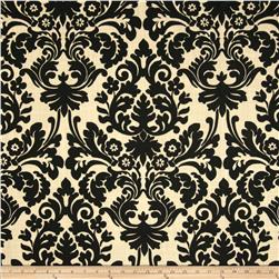 Waverly Essence Blend Damask Onyx