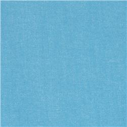 Kaufman Interweave Chambray Lake