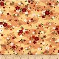 Moda Chirp Chirp Meadow Sunset Orange