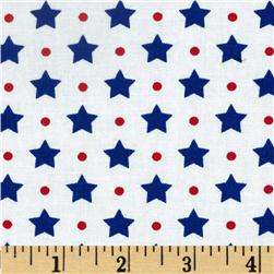 Freedom Stars-n-Dots Celebration White