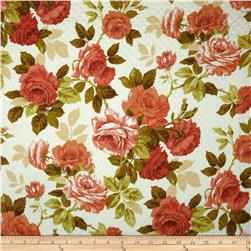 Robert Allen Promo Aria Quilted Coral