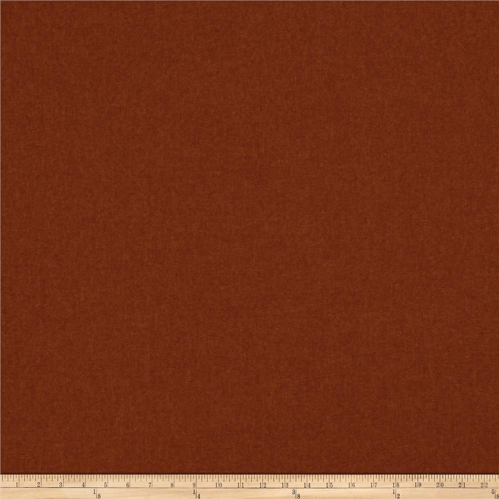 Fabricut Riggwelter Faux Wool Kiln Red