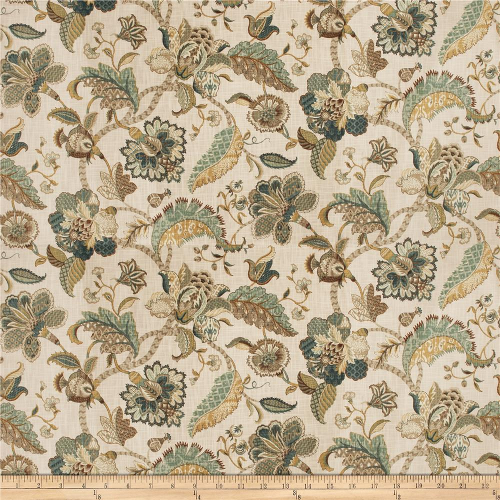 Fabricut Cleon Floral French Blue
