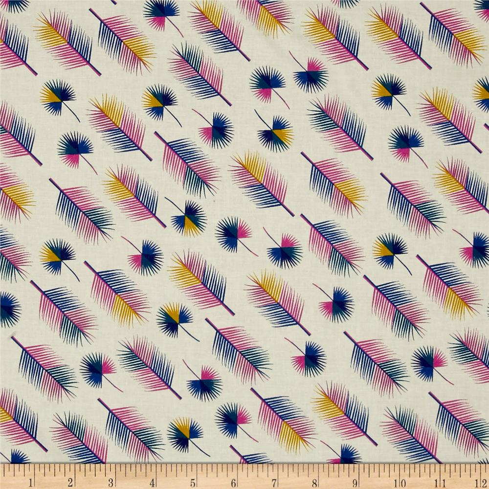 Cotton+Steel Lagoon Unbeleafable Grapes