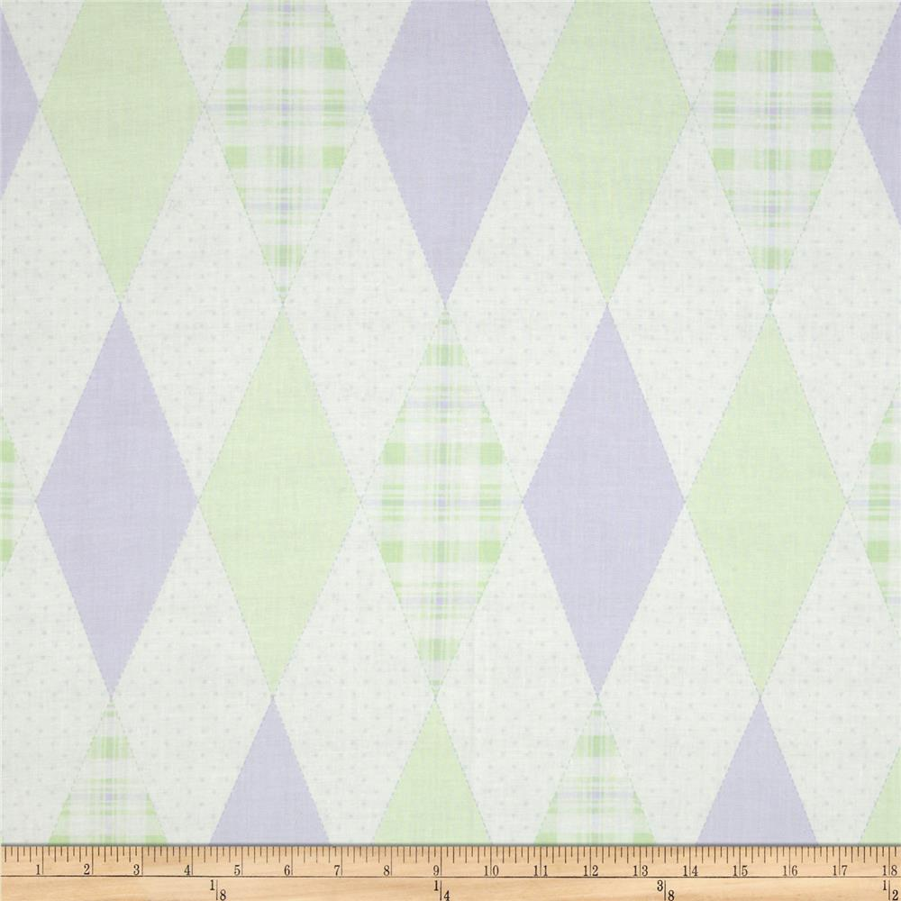 In The Nest Argyle Mint/Purple