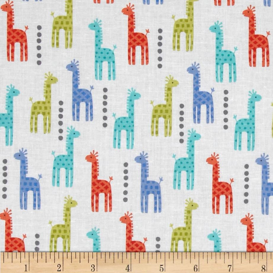 Michael Miller Zoo Littles Boy Things Mini Giraffes